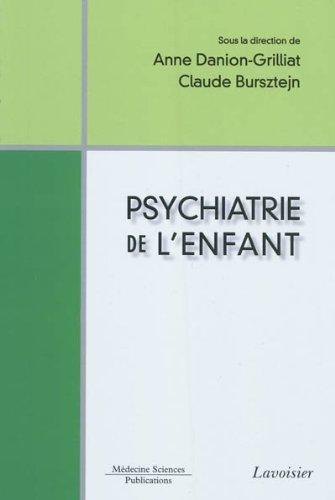Psychiatrie de l'enfant par Collectif