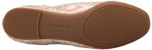 Nine West Girlsnite Ballet sintetico piatto Off White/Pink