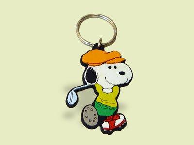 Schleich 22391 - Llavero de Snoopy jugando al golf