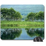 Kamchatka-Peninsula Mouse Pad, Mousepad (Lakes Mouse Pad)