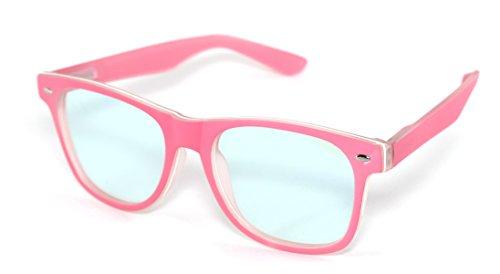 4sold Rubi Damen Herren Lesebrille +0.50 +0.75 +1.0 +1.5 +2.0 +2.5 Blaufilterbrille Blaues Licht und UV Schutzbrille Bildschirmbrille fortgeschrittene Gamer Gamingbrille Computerbrille Black (Pink, 2.50)