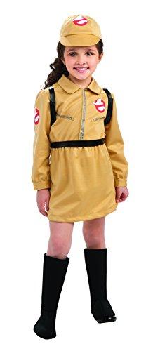Mädchenkostüm Ghost Buster - 8-10 Jahre (Ghost Buster Kostüme)