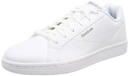 watch 4e4da afc9c Reebok Royal Complete CLN, Zapatillas de Tenis para Mujer, Blanco  (WhitePewter