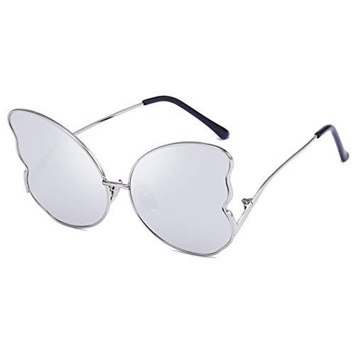 IMHERE W U Frauen-Mädchen-Dame Butterfly-Form-Sonnenbrille-Brillen Eyewear weibliche Persönlichkeit Street -
