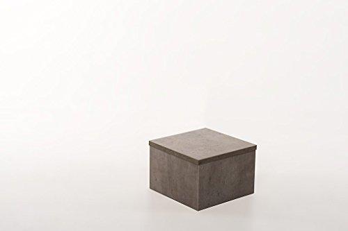 Hermesmöbel Design Floral de Fleurs Tabouret Table d'appoint Tabouret béton – L 30 x l 30 x H 20 cm qualité Travail de Revendeur de Fonctionnement en Allemagne