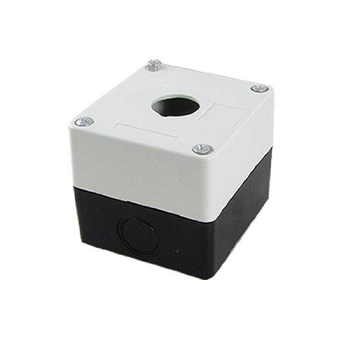 Aexit Kontrol Station Schalter 1 Schalter 22mm Push Button-Schutz-Fall 98g ein Drucktastenschalter Loch de