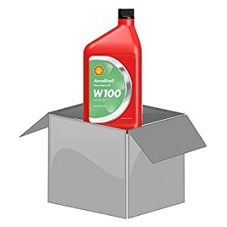 AeroShell Oil W100 - Karton (12 x 1 AQ Flaschen, US-Quart)