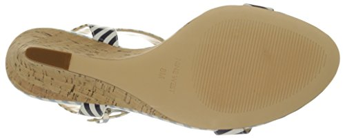 Nine West Kiani synthétique Wedge Sandal Whnv-Wlb