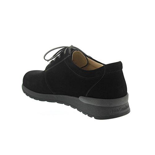 Finn Comfort Enfield, Sneaker, Rodi (Nubukleder), schwarz, 1374-575144 Schwarz
