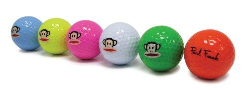 paul-frank-golf-balls-pack-of-6-multi-color