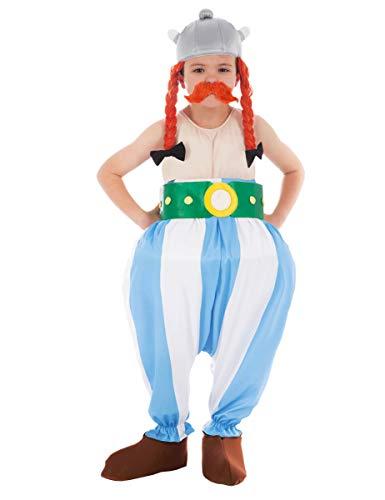 Asterix Kind Kostüm - Chaks-cs805300/116-Kostüm-Kostüm Lizenz Obelix 5teilig, 116cm