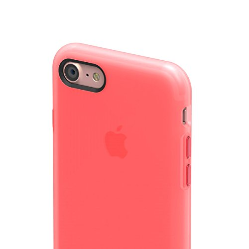 "SwitchEasy Numbers TPU Case (iPhone 7 4.7"", Translucent Rose) Translucent Rose"