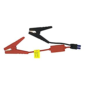 EC5 Jump Starter Qutaway Replacement EC5 Conector Cable de puente de emergencia de emergencia Cable de cocodrilo Clamp…