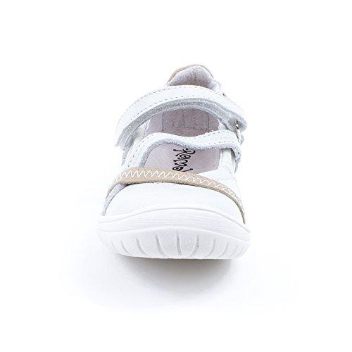 Ballerines Beziers blanc GBB Ramdam 13E50929 Beige