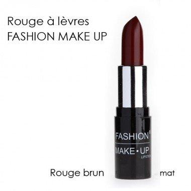 Fashion Make-Up FMU1200115 Rouge à Lèvres N°15 Rouge Brun Mat