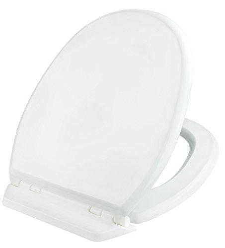 Cornat KSSEL00 Selva WC-Sitz Rückbrett antibakteriell, weiß