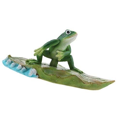 Teichfigur Wasserspeier Froschkönig