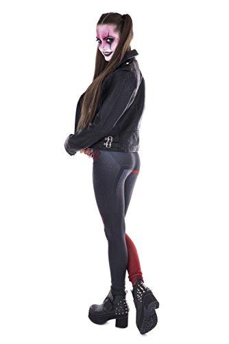 Kukubird Gedruckte Muster Frauen Yoga Leggings Gym Fitness Running Pilates Strumpfhose Skinny Pants 8 bis 12 Stretchable Diamonds Queen