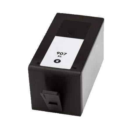 RudyTwos - Cartuccia di inchiostro di ricambio per HP 907, resa extra elevata, compatibile con OfficeJet 6970 6960