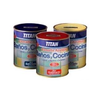 Titan M112278 – Esmalte azulejos baño-cocina arena 750 ml