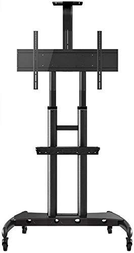 HLZ Supporto de TV, LCD y computadora Cesta de TV móvil con el Soporte de la Bandeja Planta, con 360...