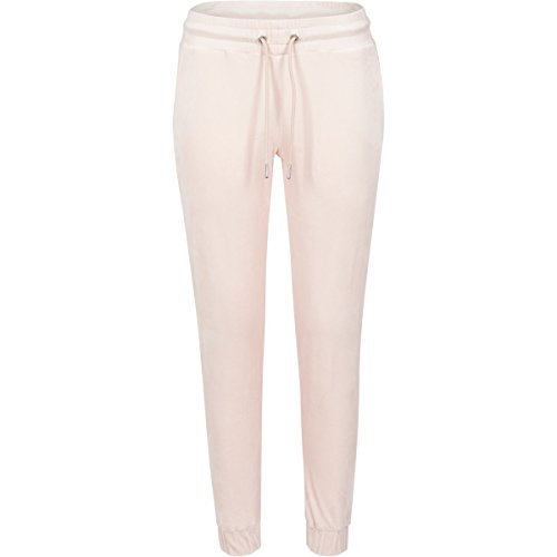 Ladies Velvet Pants pink M