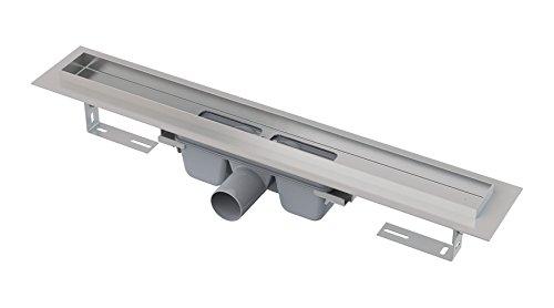 Escurrir canal con rejilla de vidrio templado longitud 950mm instalación de piso