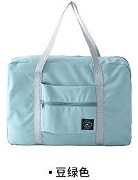 Pea Green : Woman Bags 2017 Bag Handbag Fashion Handbags Pvc Waterproof Nylon Foldable Women And Men Luggage Travel...