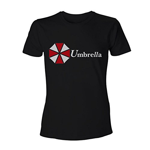 Resident Evil Umbrella Corporation Logo T-Shirt schwarz Schwarz