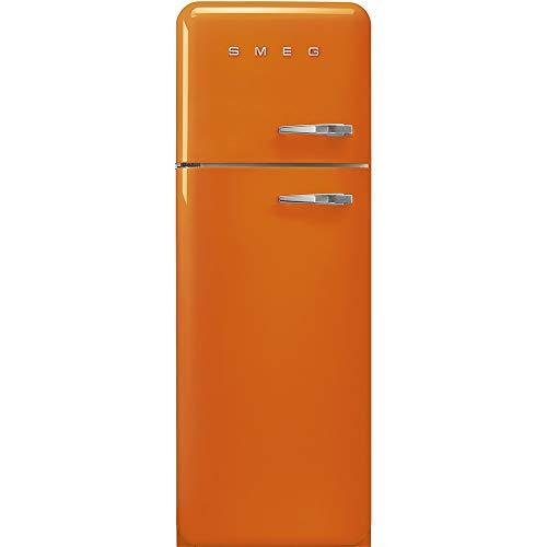 Smeg FAB30LOR3 réfrigérateur-congélateur Autonome Orange 294 L A+++ -...