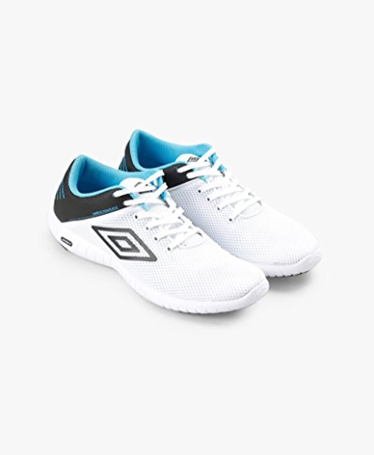 Umbro Herren Runner 4 Football Pferdeschuhe  White/Black/Bluebird  Size UK10.5