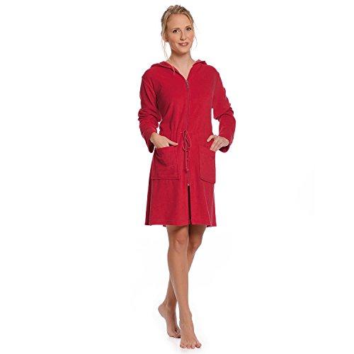 wewo fashion Damen Kapuzenmantel 031 türkis XL Rot
