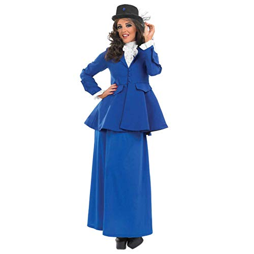Fun Shack Damen Costume Kostüm, Victorian Lady, - 1960 Kostüm Frauen