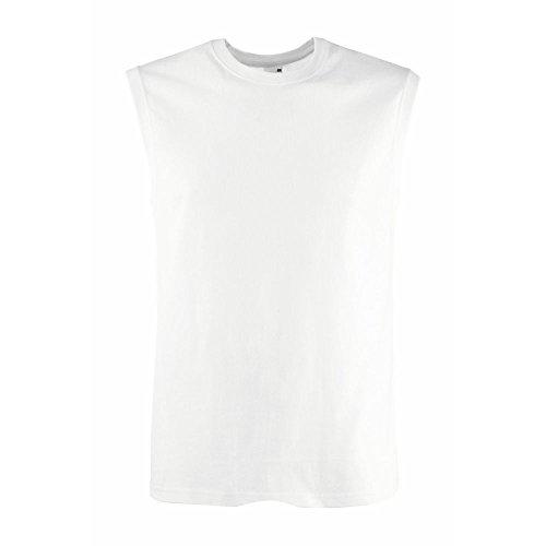 Fruit of the Loom Herren Tank Top viele Farben und Größen T-Shirt Muskelshirt Weiß