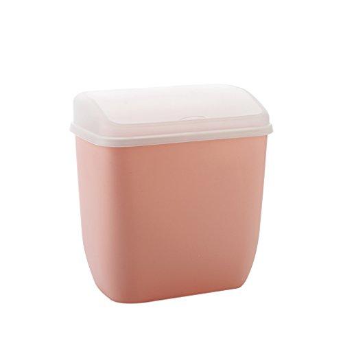 Lf stores bidoni per la spazzatura della toilette della casa con la latta di pattumiera dell'abs di lidded l'essiccatore fissato al muro di immagazzinaggio degli scomparti del secchio di stoccaggio