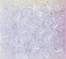 USA Produkt - Perler Fun Fusion Perlen 1000/PkGlitter Silber - Silber Perler Perlen