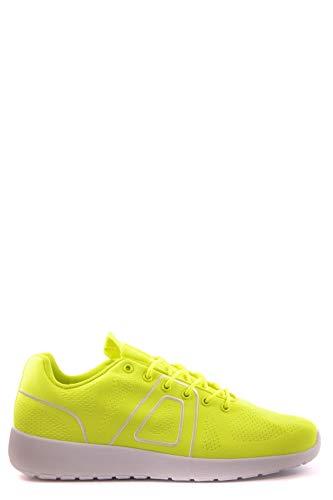 ecbbbedab645 ASFVLT SNEAKERS Women's Mcbi26324 Yellow Fabric Sneakers