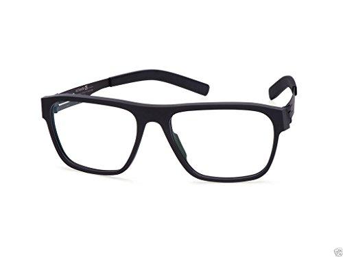 94cf5c87e4a7 Eyewear Ic!Berlin Silvio Black Rough Made in Germany 100% Authentic New