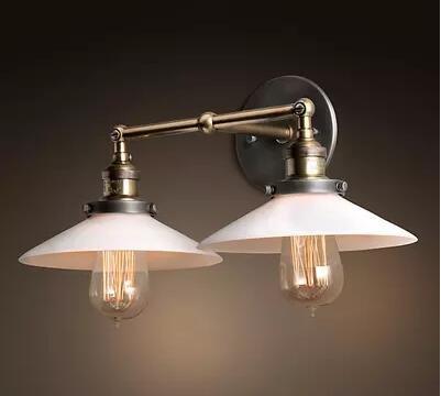 LYNDM Retro Vintage Lampada da parete con