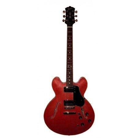 Revelation RT-35 Hollow Body Maple Electric Guitar - Cherry