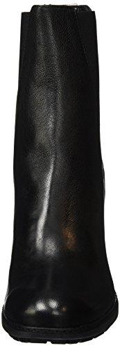 Fred de la Bretoniere Damen Fred Chelsea Boot 9cm Absatz Stiefelette Schwarz (Black)