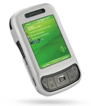 Luxus Alucase silber für HTC Herald P4350