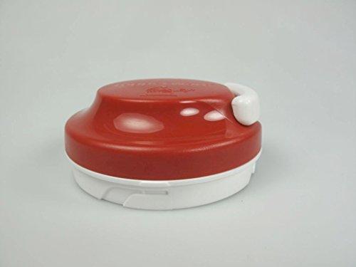 TUPPERWARE Chef Ersatzdeckel rot-weiß für Turbo-Chef Multi-Chef Extra-Chef 7211