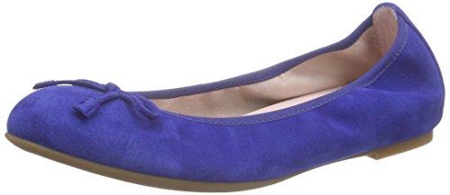 Unisa Damen Acor_16_ks Geschlossene Ballerinas Blau (ELECT.BLUE)