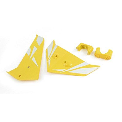 sourcingmap-a14070700ux0339-rc-ricambi-yellow-tail-decorazione-pinna-per-syma-s033g-elicottero