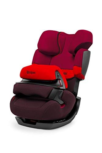 CYBEX Pallas siège auto Groupe 1/2/3(9–36kg) avec bouclier sans Isofix, Rumba red