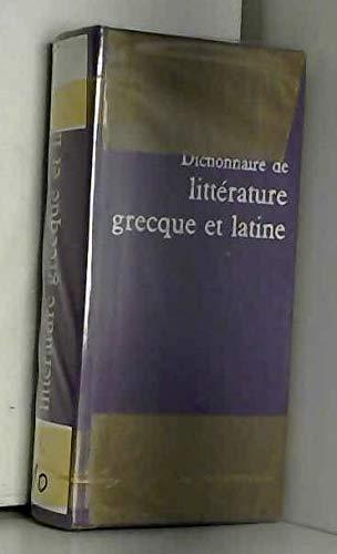 Dictionnaire de littérature grecque et Latine par Laloup Jean
