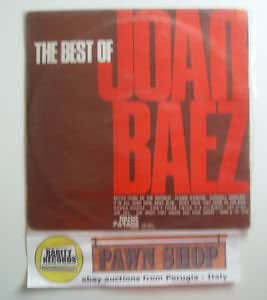 The best of Joan Baez LP MUSIC PARADE CETRA LEL 164 Italy 1973