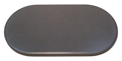 Werzalit Tischplatte, Oval Puntinella, grau, 120 x 65 x 2.2 cm, 51000112 (Ovale Tischplatte)