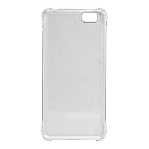 Guran® Hart Plastik Schutzhülle Case Cover für Ulefone Future Smartphone Hülle Handytasche Etui-transparent weiß